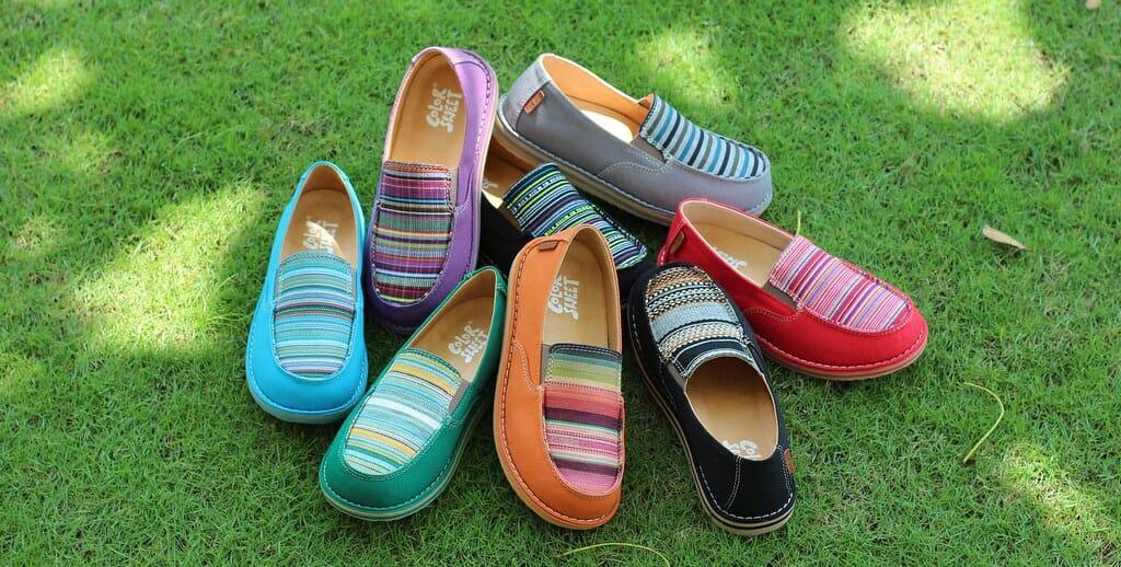 森ガール 靴