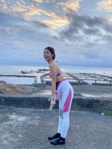 台湾女性ダイバー