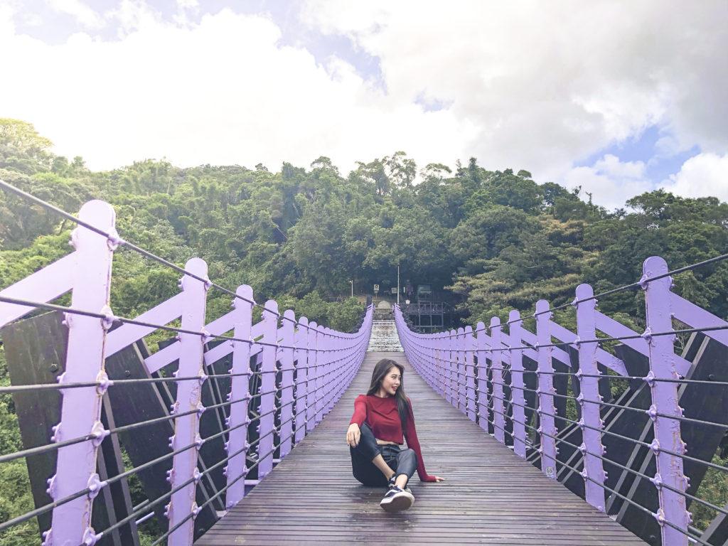台湾 吊り橋