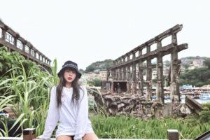 台湾廃墟美女