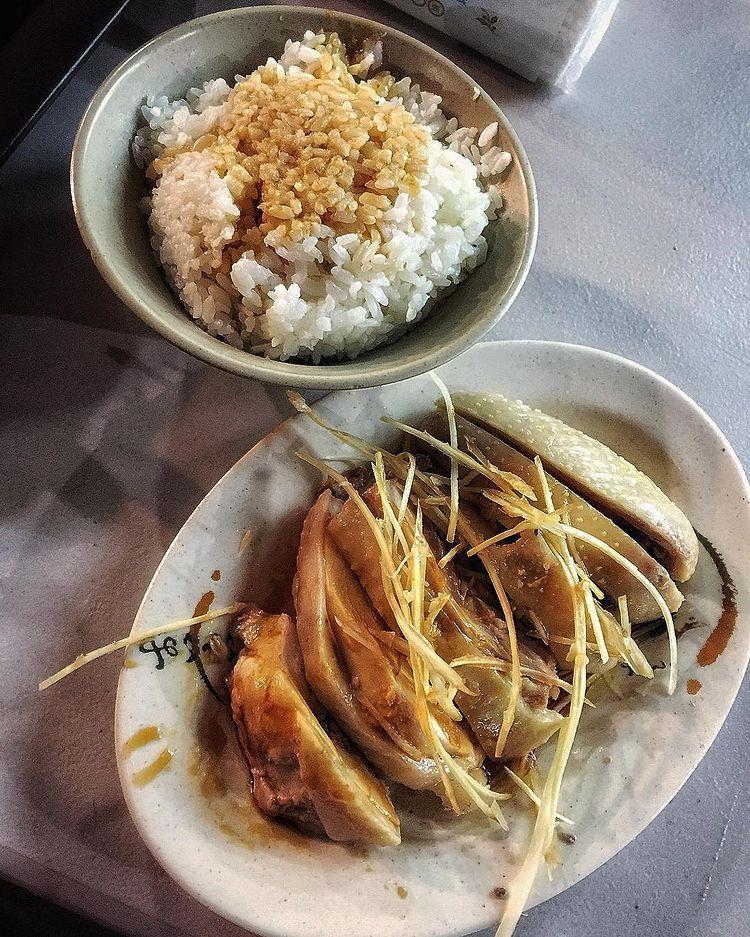 台灣鶏肉飯
