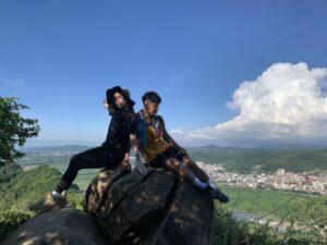 台湾高雄登山