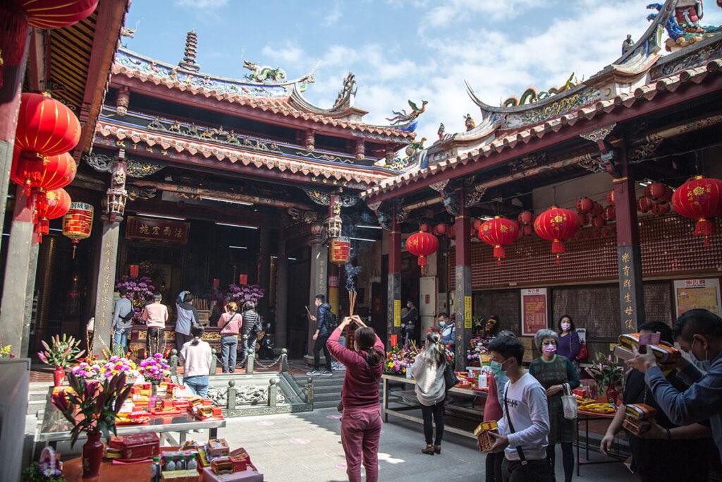 台湾台中楽天宮