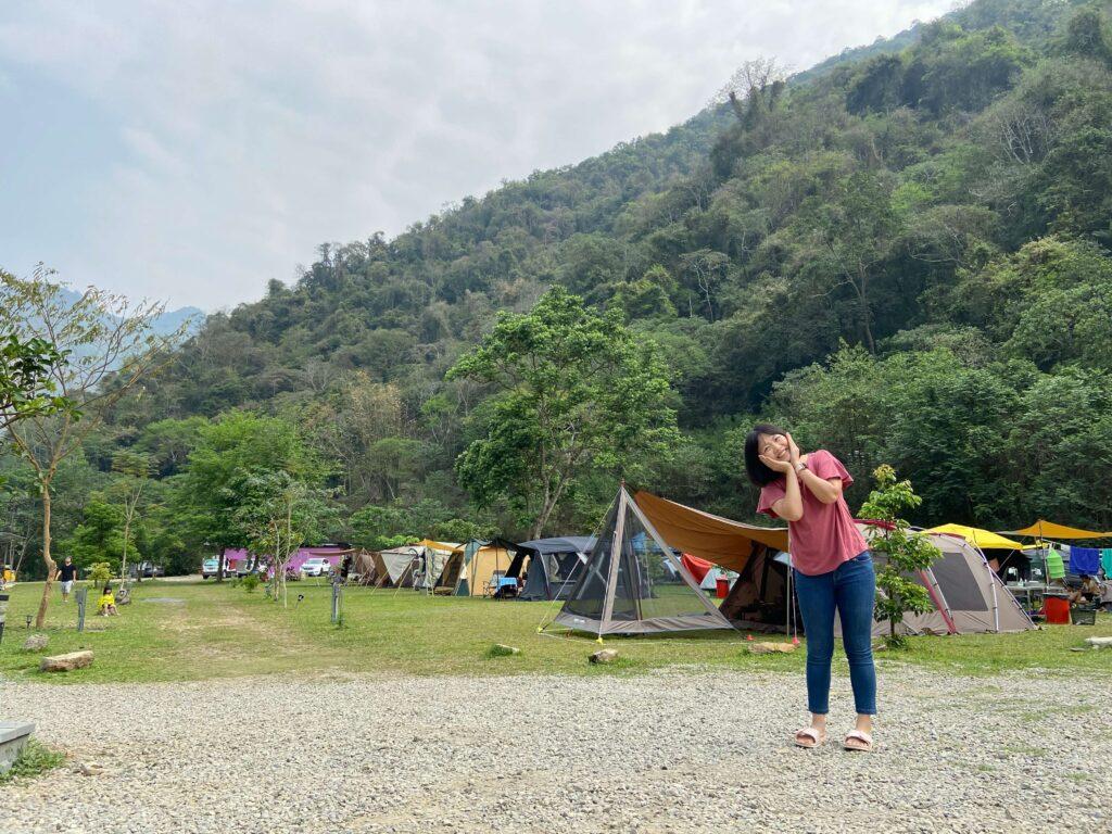台湾キャンプ南投