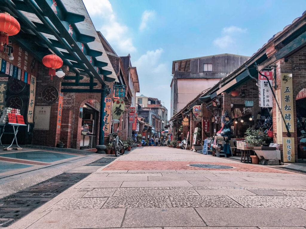 台北老街深坑