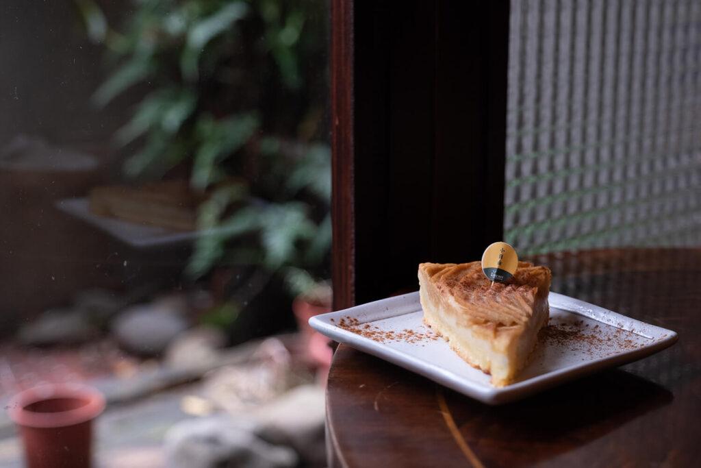台北観光地永康街のアンティークカフェ