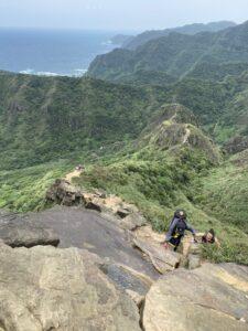 台湾登山女子