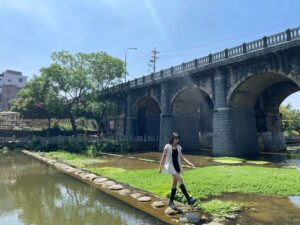 台湾新竹関西石造めがね橋