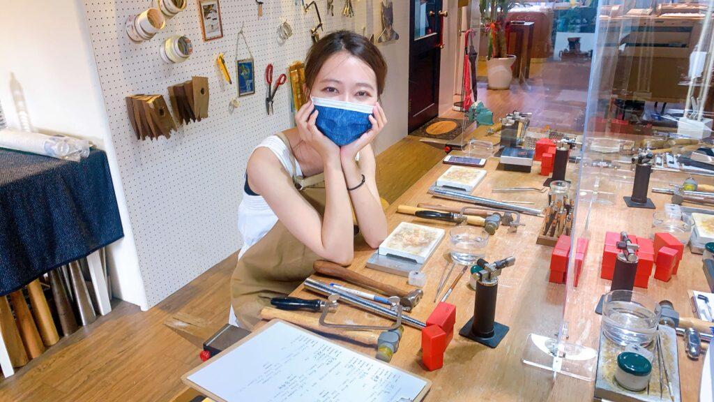 台湾アクセサリーDIY体験